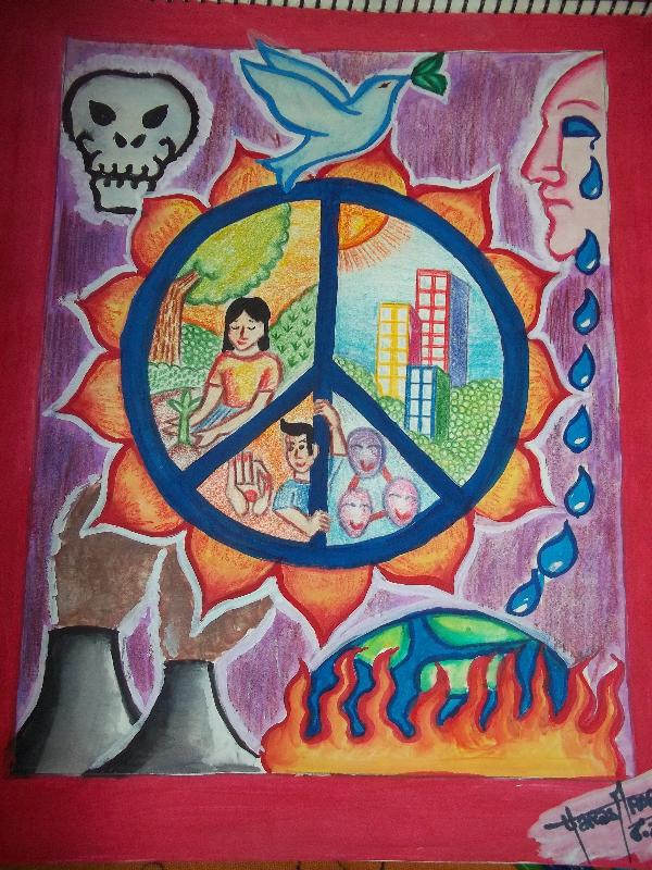 Art For Peace Contest A World Without Nuclear Weapons