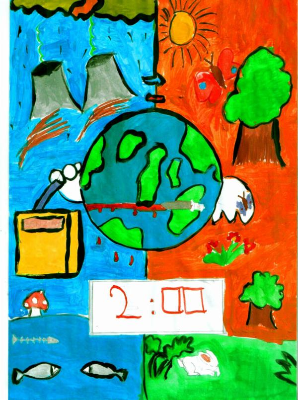Art For Peace Contest Two Minutes To Save Earth
