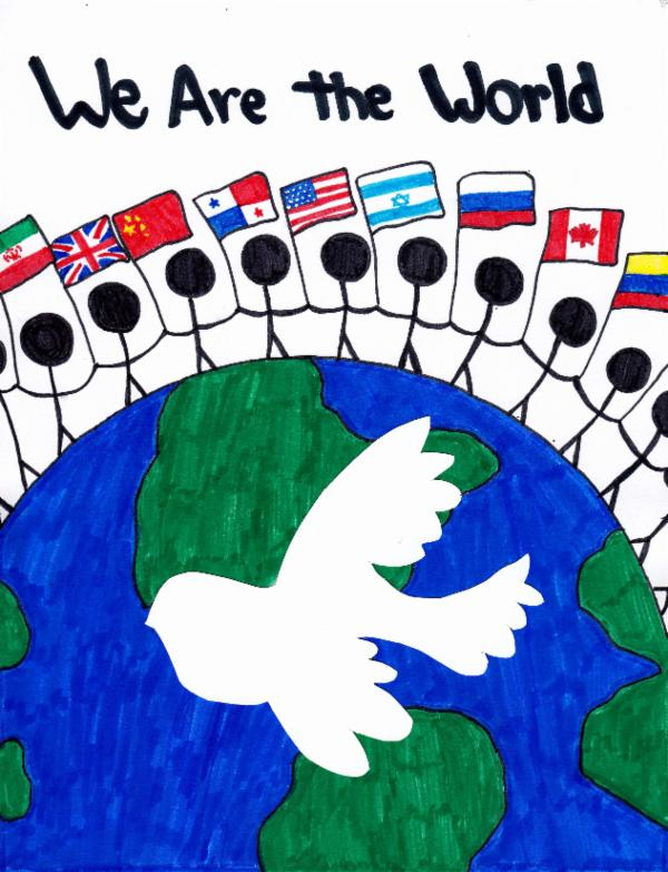 """""""We are the World"""". Art for Peace picture"""